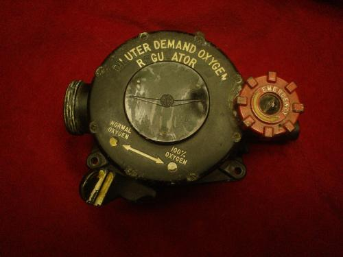 A-12A Diluter demand oxygen regulator, WW2..