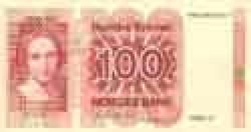 100 Kroner; Older banknotes
