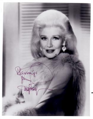 Ginger Rogers autographed 8x10 black and white photo