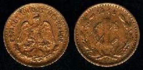 1 Centavo 1905-1949 (km 415); 20 mm