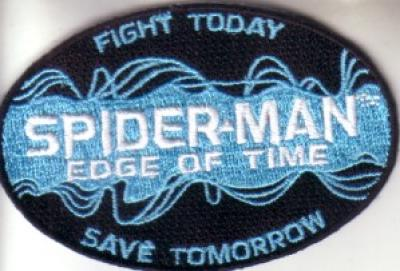 Spider-Man Edge of Time game 2011 Comic-Con embroidered promo patch