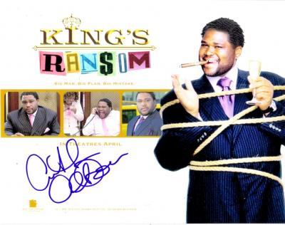 Anthony Anderson autographed 8x10 King's Ransom photo