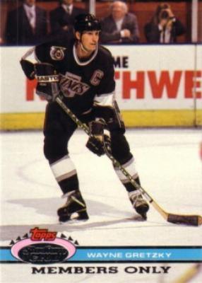 Wayne Gretzky Kings 1992 Stadium Club Members Only card