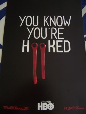 True Blood 2011 Comic-Con mini promo poster