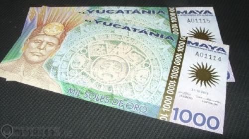 Mexico - El Yucatania Maya - 1.000 Soles