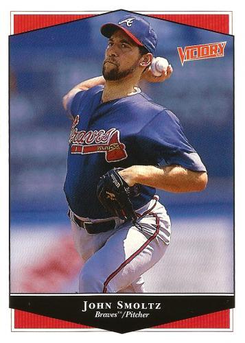 1999 Upper Deck Victory #35 ~ John Smoltz