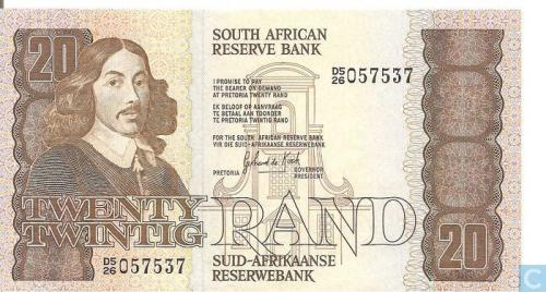 South Africa 20 Rand