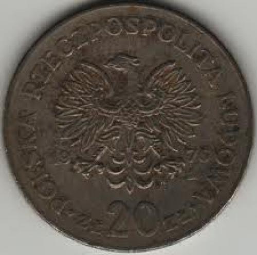 Coins; Poland 20 Zloty 1976