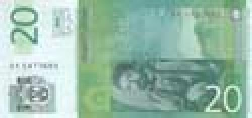 20 Serbian dinar; Serbian banknotes