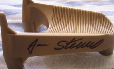 Jan Stenerud autographed kicking tee