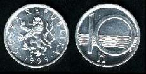 10 haleru 1993-2002 (km 6)