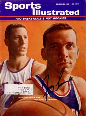 Jerry Lucas autographed 1963 Sports Illustrated