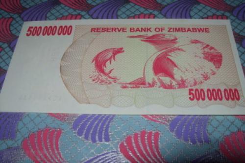 Zimbabwe (southern Rhodesia)-500000000 Dollars