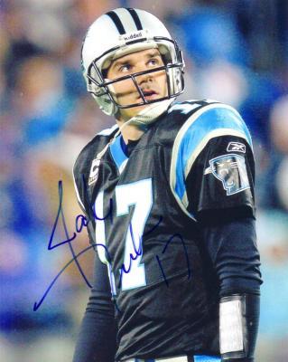 Jake Delhomme autographed Carolina Panthers 8x10 photo