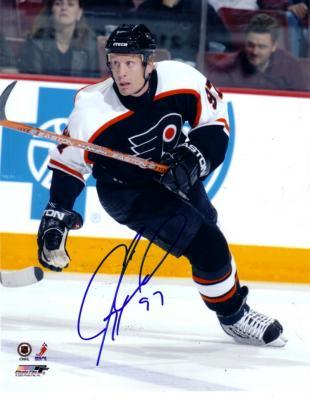 Jeremy Roenick autographed Philadelphia Flyers 8x10 photo