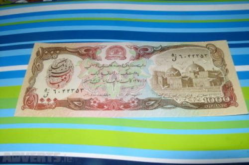 Afghanistan 1.000 Afghanis 1979-unc
