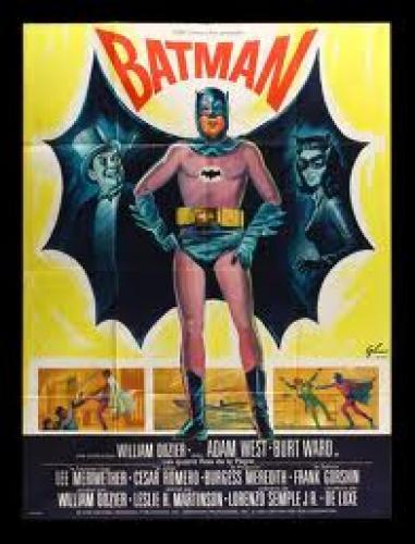 Classical Batman Movies Poster