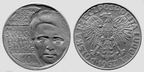 Coins; Marie_Curie_Polish_coin_1967