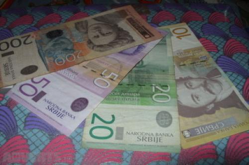 Yugoslavia 10, 20, 50, 200 Dinara 2000/12