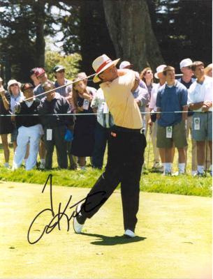 Tom Kite autographed 8x10 golf photo