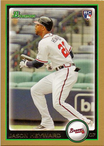 2010 Bowman Draft Gold #BDP40 ~ Jason Heyward RC