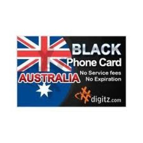 Australia prepaid phone card