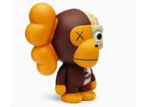 The Kaws Milo toy fuses the Milo character by A Bathing Ape