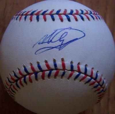 Nomar Garciaparra autographed 1997 All-Star Game baseball