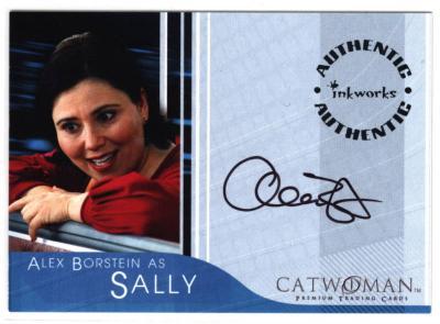 Alex Borstein certified autograph Catwoman card