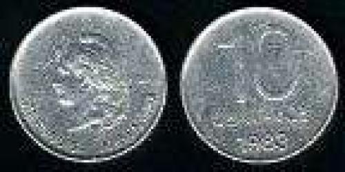 10 Centavos; Year: 1983; (km 89); aluminio; LIBERTAD