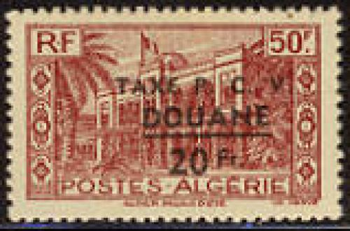 Postage due overprint 1v; Year: 1944