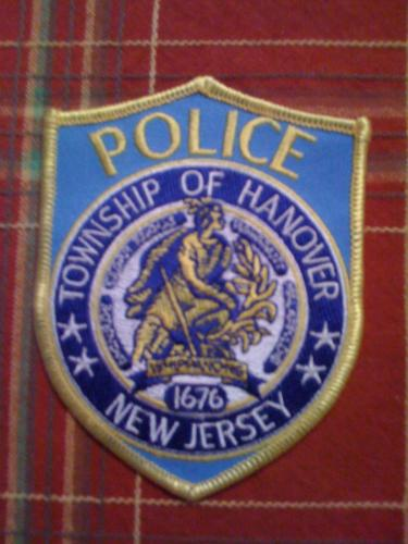 Hanover New Jersey Police patch