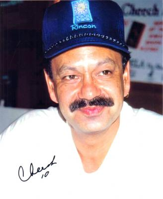 Cheech Marin autographed vintage 8x10 photo