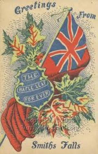 Canadian Patriotic Postcard