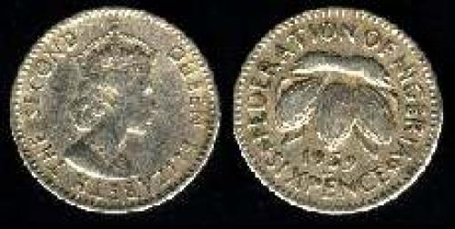 6 pence 1959 (km 4)