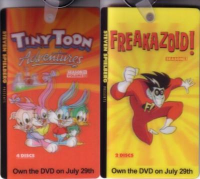 Freakazoid & Tiny Toon Adventures 2008 promo keychain