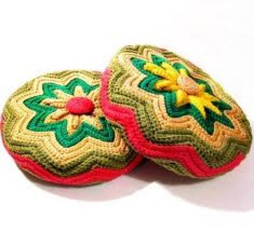 Handmade Retro Crochet Decorative