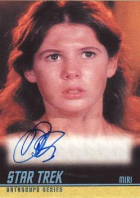 Kim Darby (Miri) Star Trek certified autograph card