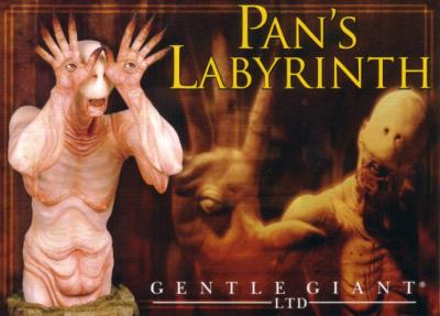 Pan's Labyrinth 2010 Comic-Con 5x7 Gentle Giant postcard