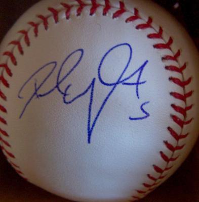 David Wright autographed MLB baseball