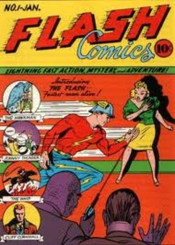 Comics; Flash Comics