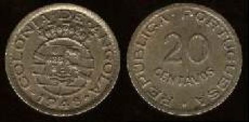 20 centavos; Year: 1948-1949; (km 71); Anniv. of Revolution