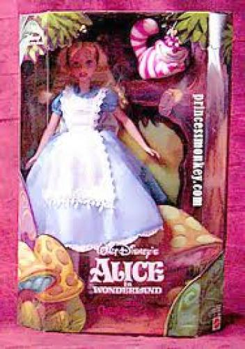 Dolls; Alice in Wonderland & Cheshire Cat, Disney