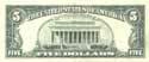5 Dollars; Regular issues; (1964-1993)