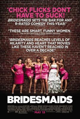 Bridesmaids mini double sided movie poster (Kristen Wiig)
