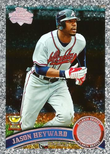 2011 Topps Diamond Anniversary #635 ~ Jason Heyward