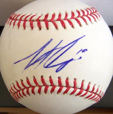 Matt Cain autographed MLB baseball