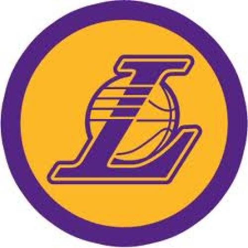 LA Lakers Badge