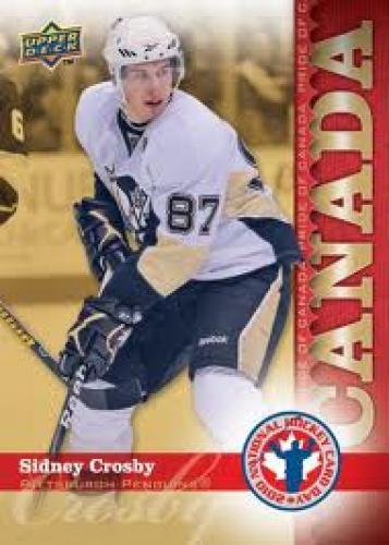 Upper Deck 2010; Sidney Crosby National Hockey Card Day