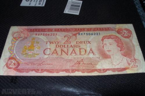 Canada 2 dollar-1974